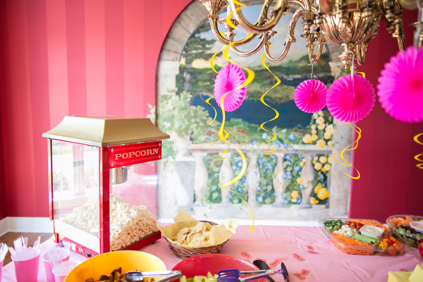 A Carnival Theme Bridal Shower