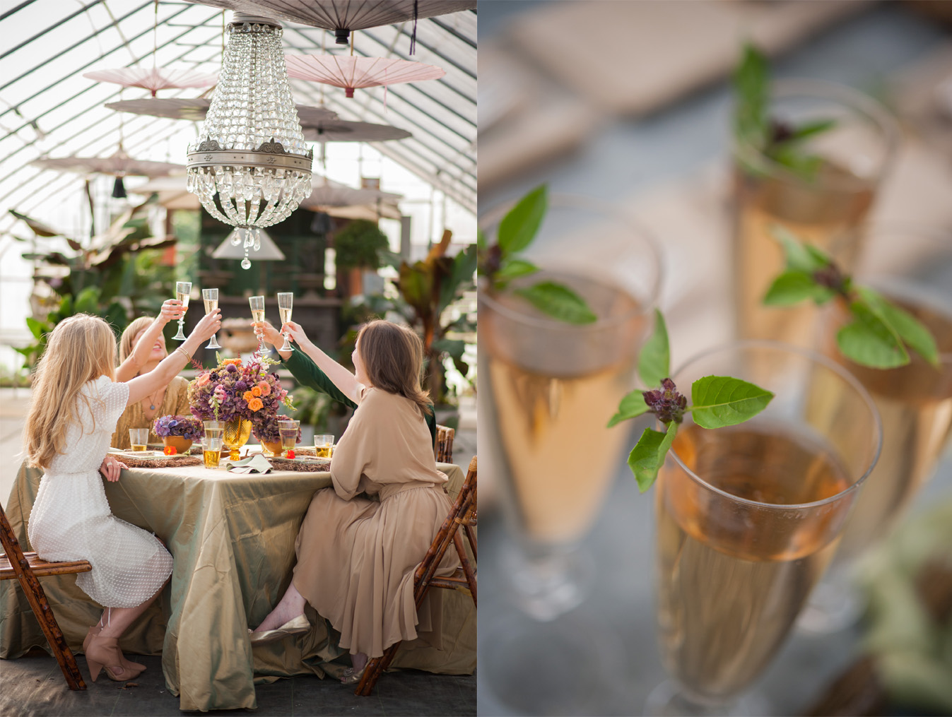 A Greenhouse Garden Bridal Shower | Ultimate Bridesmaid | Brea McDonald Photography